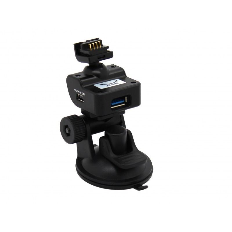TrueCam Ax kompletne mocowanie z detekcją radarów - przyssawka