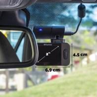 TrueCam M9 GPS 2.5K (z ostrzeżeniem o fotoradarach)