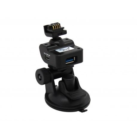 TrueCam kompletne mocowanie z detekcją radarów - przyssawka